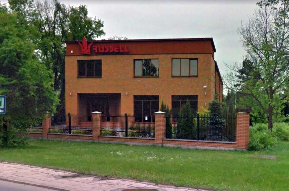 siedziba firmy russell