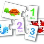 learning kids puzzle edukacyjne liczenie