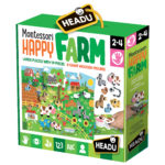 headu puzzle montessori happy farm